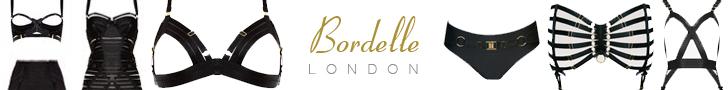 London boutique Bordelle luxury Designer bondage inspired lingerie