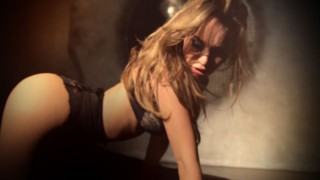 European model Svetlana Volkova in lace lingerie and corset on dubstep track Xilent – Touch Sound