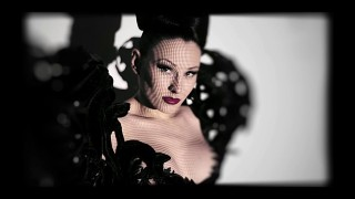 Neo Burlesque performer and Femme fatale Eden Berlin from Germany
